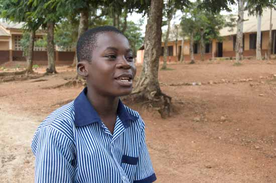 Abraham's child sponsorship testimonial